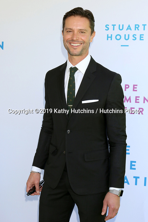 LOS ANGELES - OCT 6:  Jason Behr at  The Rape Foundation's Annual Brunch at the Private Estate on October 6, 2019 in Beverly Hills, CA