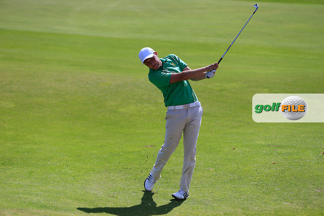 Paul McBride (IRL) during the Home Internationals day 2 foursomes matches supported by Fairstone Financial Management Ltd. at Royal Portrush Golf Club, Portrush, Co.Antrim, Ireland.  13/08/2015.<br /> Picture: Golffile | Fran Caffrey<br /> <br /> <br /> All photo usage must carry mandatory copyright credit (&copy; Golffile | Fran Caffrey)