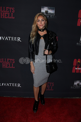 LOS ANGELES, CA - MAY 10: Cassie Scerbo arrives at the '6 Bullets To Hell' Mobile Game Launch Party on May 10, 2016 in Los Angeles, California. Credit: Parisa/MediaPunch.