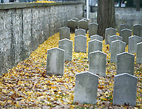 Scenes from Camp Chase, a confederate cemetery, Nov. 11, 2003 in Columbus, Ohio. (Jay LaPrete/EyePush Newsphotos)