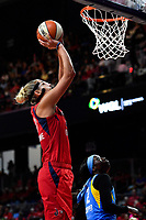 Washington, DC - September 8, 2019: Washington Mystics forward Elena Delle Donne (11) goes for a shot during game between the Chicago Sky and Washington Mystics at the Entertainment and Sports Arena in Washington, DC. The Mystics locked up the #1 seed in the Playoffs by defeating the Sky 100-86. (Photo by Phil Peters/Media Images International)