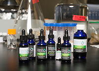 Realm of Caring's Charlotte Botanicals lab in Boulder, Colorado, Tuesday, May 31, 2016. <br /> <br /> Photo by Matt Nager