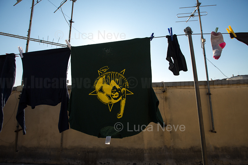 Football & Marxism...<br /> <br /> Rome, 19/03/2020. Rome's Olympic Village district under the Italian Government lockdown for the Outbreak of the Coronavirus SARS-CoV-2 - COVID-19. On the 22nd March, the Italian PM Giuseppe Conte signed a new Decree Law which suspends non-essential industry productions and contains the list of allowed working activities, which includes Pharmaceutical & food Industry, oil & gas extraction, clothes & fabric, tobacco, transports, postal & banking services (timetables & number of agencies reduced), delivery, security, hotels, communication & info services, architecture & engineer, IT manufacturers & shops, call centers, domestic personnel (1.).<br /> Updates: Italy: 22.03.20, 6:00PM: 46.638 positive cases; 7.024 recovered; 5.476 died.<br /> <br /> The Rome's Olympic Village (1957-1960) was designed by: V. Cafiero, A. Libera, A. Luccichenti, V. Monaco, L. Moretti. «Built to host the approximately 8,000 athletes involved in the 1960 Olympic Games, Rome's Olympic Village is a residential complex located between Via Flaminia, the slopes of Villa Glori and Monti Parioli. It was converted into public housing [6500 inhabitants, ndr] at the end of the sporting event. The intervention is an example of organic settlement, characterized by a strong formal homogeneity, consistent with the Modern Movement's principles of urbanism. The different architectural structures are made uniform by the use of some common elements: the pilotis, ribbon windows, concrete stringcourses, and yellow brick curtain covering. At the center of the neighborhood, the Corso Francia viaduct - a road bridge about one kilometer long - was built by Pier Luigi Nervi […]» (2.).<br /> <br /> Info about COVID-19 in Italy: http://bit.do/fzRVu (ITA) - http://bit.do/fzRV5 (ENG)<br /> 1. March 22nd Decree Law http://bit.do/fFwJn (ITA)<br /> 2. (Atlantearchitetture.beniculturali.it MiBACT, ITA - ENG) http://bit.do/fFw3H<br /> 12.03.20 Rome's Lockdown for the Outbreak of the Coronavir