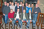 Patrick Roberts, Clonkeen, Killarney,second from left, pictured with his colleagues from Killarney Post Office as he celebrated his upcoming wedding, in the Granary Bar Killarney on Saturday night. Pictured with him are Con Brady, Denis Cronin, Billy O'Sullivan, Sean Devane, DJ Cahill, Connie Kelly, Johnny Coffey, Paul Purcell, Johnny Murphy, Sean Clarke, Seamus Mannix, Connie O'Shea, Brendan McCarthy, Moss Kelly and Ger Murphy.