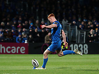4th January 2020; RDS Arena, Dublin, Leinster, Ireland; Guinness Pro 14 Rugby, Leinster versus Connacht; Ciaran Frawley (Leinster) converts another try - Editorial Use