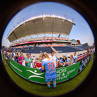 Bridgeview, IL - Sunday September 03, 2017: Morgan Brian, fans during a regular season National Women's Soccer League (NWSL) match between the Chicago Red Stars and the North Carolina Courage at Toyota Park. The Red Stars won 2-1.