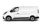 Car Driver side profile view of a 2017 Fiat Talento Pack 4 Door Cargo Van Side View