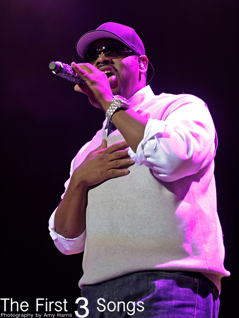 Nathan Morris of Boyz II Men performs at the 2011 Essence Music Festival on July 1, 2011 in New Orleans, Louisiana at the Louisiana Superdome.