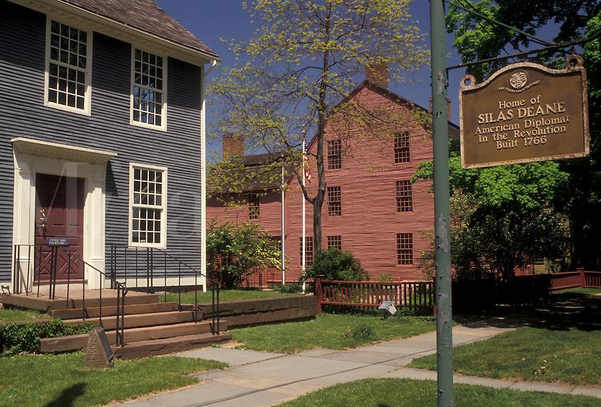 AJ3505, Wethersfield, Connecticut, Webb-Deane-Stevens Museum in Wethersfield in the state of Connecticut.
