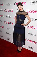 "LOS ANGELES - AUG 23:  Alexandra Daddario at the ""The Layover"" Los Angeles Premiere at the ArcLight Theater on August 23, 2017 in Los Angeles, CA"