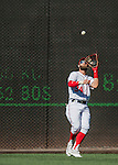 28 August 2016: Washington Nationals outfielder Bryce Harper pulls in the 3rd out in the top of the 9th inning against the Colorado Rockies at Nationals Park in Washington, DC. The Rockies defeated the Nationals 5-3 to take the rubber match of their 3-game series. Mandatory Credit: Ed Wolfstein Photo *** RAW (NEF) Image File Available ***