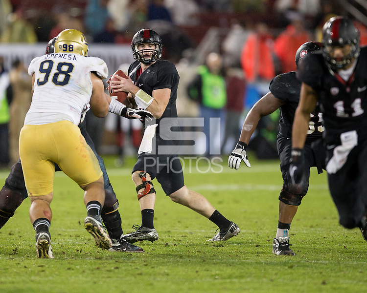 Stanford, CA -- November 30, 2012:  Stanford plays UCLA in the Pac-12 Championship Game.  The Cardinal beat the Bruins 27-24.