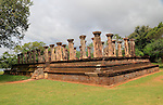 Council Chamber, Island Park, UNESCO World Heritage Site, the ancient city of Polonnaruwa, Sri Lanka, Asia