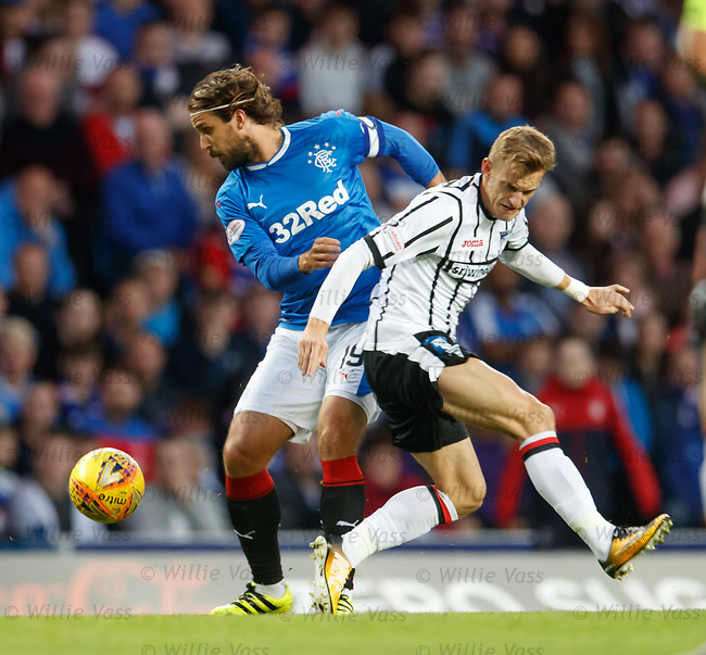 Niko Kranjcar and Dean Shiels