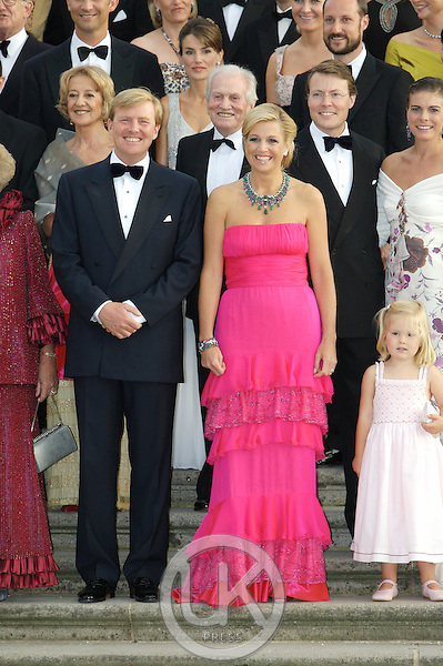 Crown Prince Willem Alexander, and Crown Princess Maxima of Holland attend a Reception at Het Loo Palace in Apeldoorn, to celebrate the 40th Birthday of Crown Prince Willem Alexander, The Prince turned forty in April earlier this year.