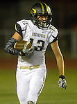 Torrance, CA 09/19/15 - AJ Seymour (Peninsula #13) in action during the Peninsula Panthers - Torrance Tartars Varsity football game at Torrance High School