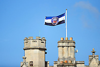 A general view of a Bath Rugby flag. Bath Rugby pre-season training session on August 9, 2016 at Farleigh House in Bath, England. Photo by: Patrick Khachfe / Onside Images