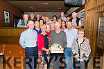 Paddy Pendergast from Farranfore celebrated his 70th birthday surrounded by friends and family in the Scotts Hotel, Killarney last Saturday night