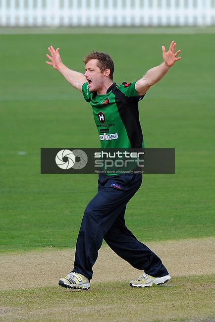 WTTU player #14 during the Senior ODI Final WTTU v Wanderers. Saxton Oval, Richmond, Nelson, New Zealand. Saturday 29 March 2014. Photo: Chris Symes/www.shuttersport.co.nz