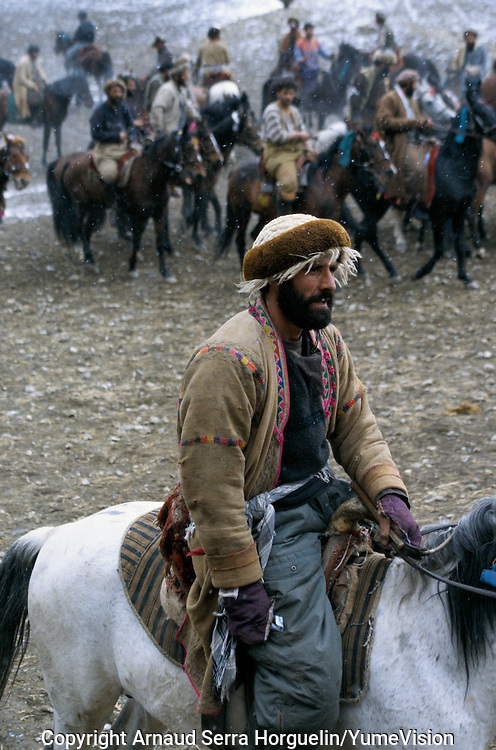 "A Buzkashi between North Alliance teams in Badakshan..""bOzkashI"" is one of the ancient games played in Afghanistan. The name of this game is perhaps derived from hunting mountain goats by ancient champions n horseback..-The full text reportage is available on request in Word format"