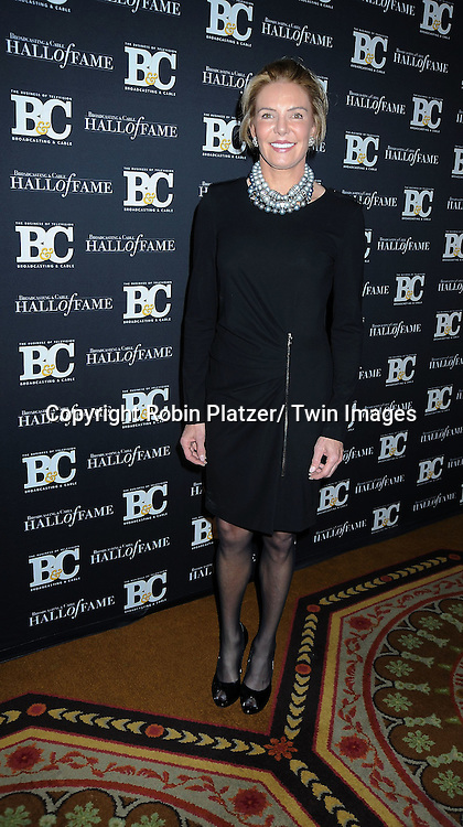 Lesley Visser attending the 20th Annual  Broadcasting & Cable Hall of Fame Awards on October 27, 2010 at The Waldorf Astoria Hotel in New York City.