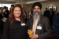 Fiona Bessford of Tuener & Townsend and Amit Sagoo of Nottingham Trent University