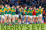 The Kerry Team before the Allianz Football League Division 1 Round 1 match between Dublin and Kerry at Croke Park on Saturday.