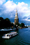 Netherlands: Amsterdam.  Boat tour on the canals.   Photo #: duamst102.  Photo copyright Lee Foster, 510/549-2202, www.fostertravel.com, lee@fostertravel.com