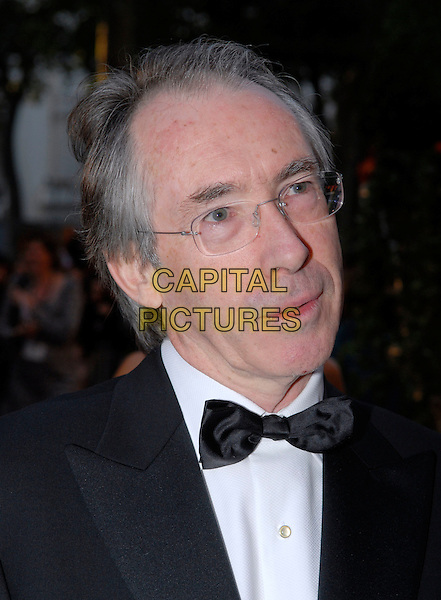 "IAN McEWAN.Attending the UK Film premiere of ""Atonement"", .The Odeon, Leicester Square, London, England,.September 4th 2007..portrait headshot glasses bow tie author.CAP/IA.©Ian Allis/Capital Pictures"
