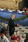 White House Chief of Staff Rahm Emanuel before the luncheon following Barack Obama's swearing in as the 44th President of the United States at Statuary Hall in the U.S. Capitol in Washington, DC on January 20, 2009.