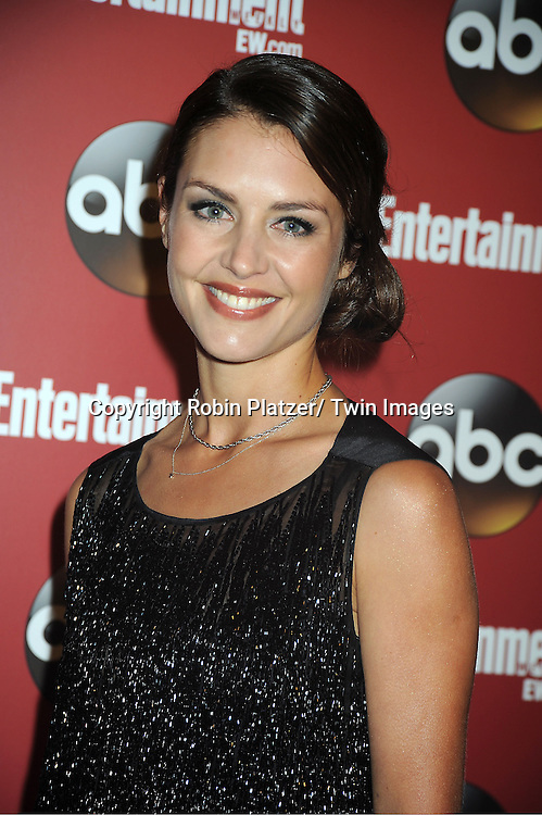 "Hannah Ware of ""Betrayal"" at the Entertainment Weekly and ABC-TV Upfront Party at The General on May 14, 2013 in New York City."
