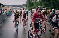 Jasper de Buyst (BEL/Lotto-Soudal) after finishing<br /> <br /> Stage 3: Oberstammheim > Gansingen (182km)<br /> 82nd Tour de Suisse 2018 (2.UWT)