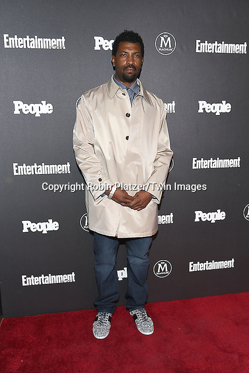 Deon Cole attends the Entertainment Weekly &amp; PEOPLE Magazine New York Upfronts Celebration on May 16, 2016 at Cedar Lake in New York, New York, USA.<br /> <br /> photo by Robin Platzer/Twin Images<br />  <br /> phone number 212-935-0770