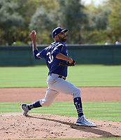 David Price - Los Angeles Dodgers 2020 spring training (Bill Mitchell)