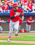 7 March 2015: Washington Nationals outfielder Bryce Harper in Spring Training action against the St. Louis Cardinals at Space Coast Stadium in Viera, Florida. The Nationals rallied to defeat the Cardinals 6-5 in Grapefruit League play. Mandatory Credit: Ed Wolfstein Photo *** RAW (NEF) Image File Available ***