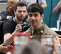June 07, 2019   Joe Jonas  of Jonas Brothers at Today Show Concert Series to perform,  talk about new album Happiness Begins and tour in New York June 07, 2019   <br /> CAP/MPI/RW<br /> ©RW/MPI/Capital Pictures