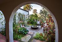 Secret garden courtyard room; McAvoy Garden - Design - Ground Studio