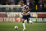 11 September 2012: Brek Shea (USA). The United States Men's National Team defeated the Jamaica Men's National Team 1-0 at Columbus Crew Stadium in Columbus, Ohio in a CONCACAF Third Round World Cup Qualifying match for the FIFA 2014 Brazil World Cup.
