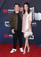 11 March 2018 - Inglewood, California - Adam Devine, Chloe Bridges. 2018 iHeart Radio Awards held at The Forum. <br /> CAP/ADM/BT<br /> &copy;BT/ADM/Capital Pictures