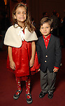 Lillian Salem,6, and Harry Salem,3, at the opening night of The Nutcracker at the Wortham Theater Friday Nov. 27,2009. (Dave Rossman/For the Chronicle)