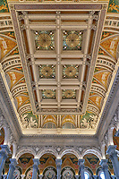 Library of Congress Thomas Jefferson Building in Washington DC.