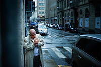 Torino, Piemonte, 01.12.2014. Vincenzo Calcara er født i Caselvetrano på Sicilia. Han er en tidligere leiemorder i Cosa Nostras væpnede fløy, og var personlig involvert i attentatet på Pave Johannes Paul II samt attentatet på den berømte antimafiadommeren Paolo Borsellino. Han lever nå i skjul på et hemmelig sted i Italias Piemonte region. Bilder til feature om båndene mellom Vatikanet, Ndrangheta og den italienske stat. Foto: Christopher Olssøn.