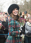 25.12.2017; Sandringham, England: MEGHAN MARKLE JOINS ROYALS FOR CHRISTMAS AT SANDRINGHAM<br />Meghan Markle, Prince Harry&rsquo;s fiance accompanied him to the Christmas Service at St Mary&rsquo;s Magdalene on the Sandringham estate. Also present were the Duke and Duchess of Cambridge; Princess Beatrice, Princess Eugenie, the Wessexes and Peter Phillips and Family<br />Members of the extended royal family were also in attendance. <br />Mandatory Photo Credit: &copy;Cate Santana/NEWSPIX INTERNATIONAL<br /><br />IMMEDIATE CONFIRMATION OF USAGE REQUIRED:<br />Newspix International, 31 Chinnery Hill, Bishop's Stortford, ENGLAND CM23 3PS<br />Tel:+441279 324672  ; Fax: +441279656877<br />Mobile:  07775681153<br />e-mail: info@newspixinternational.co.uk<br />Usage Implies Acceptance of Our Terms &amp; Conditions<br />Please refer to usage terms. All Fees Payable To Newspix International