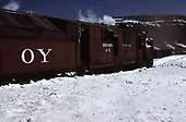 C&amp;TS rotary snowplow #OY on Cumbres Pass.<br /> C&amp;TS  Cumbres Pass, CO