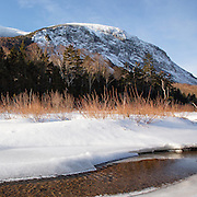 This is the image for March in the 2014 White Mountains New Hampshire calendar. Franconia Notch State Park - Cannon Mountain from along the Pemi Trail in the White Mountains, New Hampshire USA . Purchase the calendar here: http://bit.ly/1audUBp .