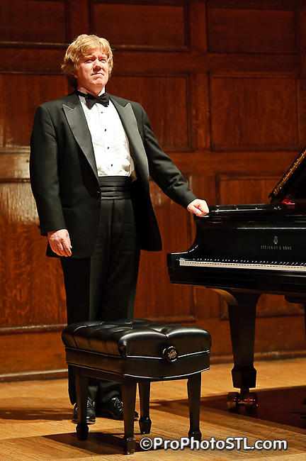 Pianist Mark Laverty in concert to celebrate Chopin's 200th birthday at The Sheldon in St. Louis, MO on March 2, 2010.