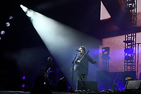 SHEPTON MALLET, ENGLAND - JUNE 30: Robert Smith of 'The Cure' performing at Glastonbury Festival, Worthy Farm, Pilton, on June 30, 2019 in Shepton Mallet, England.<br /> CAP/MAR<br /> ©MAR/Capital Pictures