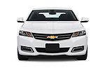 Car photography straight front view of a 2018 Chevrolet Impala 1LT 4 Door Sedan