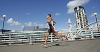 29 JUL 2007 - SALFORD, UK - Jose Luis Zepeda - Salford ITU World Cup Triathlon. (PHOTO (C) NIGEL FARROW)