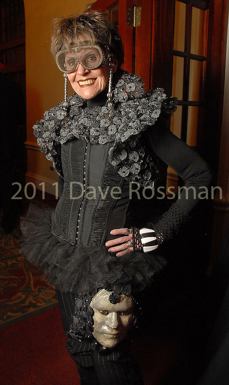 Marjorie Nezin at the Diverse Works Fire Sale Gala at the Rice Hotel Friday  March 27,2009.(Dave Rossman/For the Chronicle)